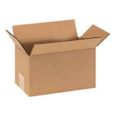10x8x5 Corrugated Packing Shipping Moving Cardboard Boxes Mailing Cartons 25 New