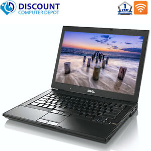 "Dell Latitude Laptop 15.4"" HD Screen Intel 2.4GHz 4GB 1TB DVD-RW Windows 10 Pro"