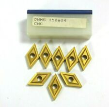 Duracarb Dnms 150604 Cnc Carbide Inserts Brand New Lot Of 8 Inserts