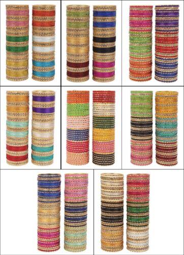Indian Bangles Box Bollywood Multi Color Fashion Wedding Wear Designer Bangles