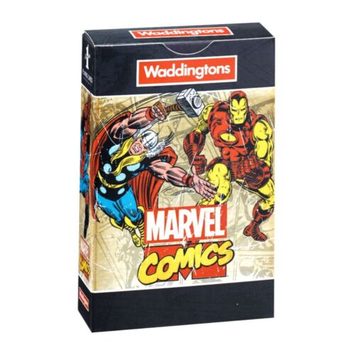 Marvel Comic Retro Waddingtons Number 1 Playing Cards