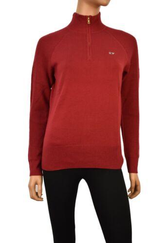 Vineyard Vines Women/'s 1//4 zip  Sweater Pullover $148.00 in Vermilion