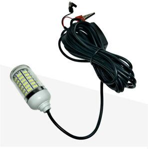 IP68-Waterproof-12V-108pcs-LED-Underwater-Night-Fishing-Light-Crappie-Shad-Squid