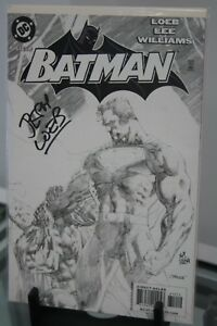 BATMAN-612-BLACK-AND-WHITE-EDITION-SIGNED-amp-NUMBERED-BY-WRITER-JEPH-LOEB