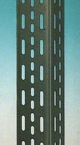 Angolari In Ferro Per Scaffali.Pz 4 Angolari Forati In Acciaio Mm55x75x1000 Per Scaffali