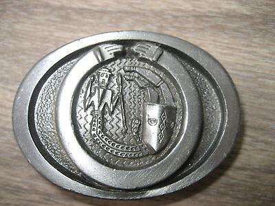 Volitivo Cavalieri Fibbia Della Cintura (bk340)-mostra Il Titolo Originale Con Il Miglior Servizio