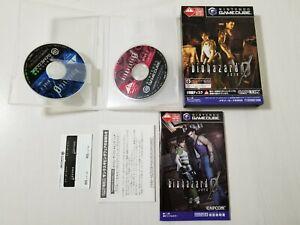 Nintendo Gamecube Biohazard Zero 0 Resident Evil Japan 0409A9