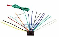 Sony Wiring Harness 16 Pin + 6 Ft Remote Wire (click For Compatibility Chart)