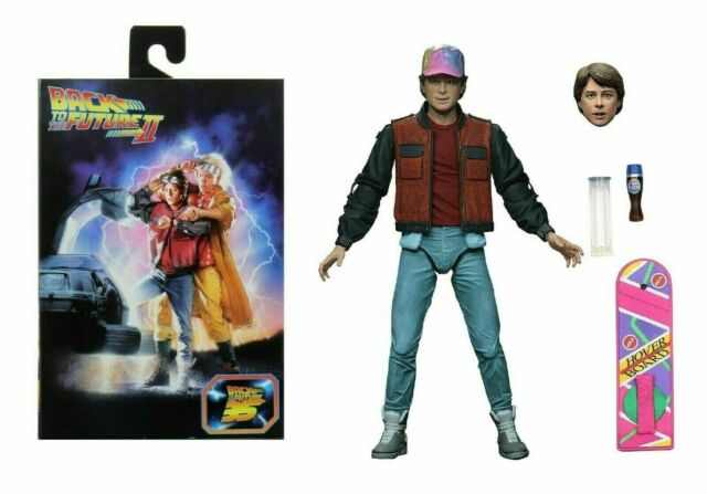 Back to the Future Part 2 Ultimate Marty McFly Action Figure IN STOCK! Neca