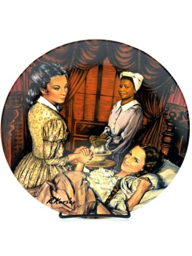 U PICK Knowles Norman Rockwell Kursar Series Collector Plate Gone Wind China