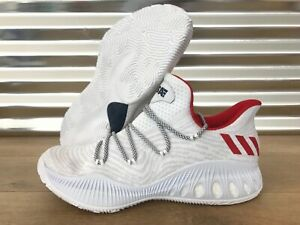 Adidas Explosive about Crazy White Shoes USA Details Red SZCQ1603 Low Basketball TlcJKuF135