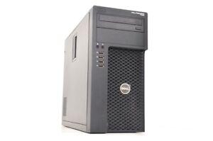 Ordinateur PC DELL Precision T1650 i3-2120@3,30GHz/8GB/500Go/Win10Pro Grd B+