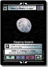 Star Trek CCG DS9 Deep Space 9 Changling Research