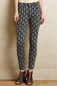 Anthropologie-Pilcro-Serif-Sateen-Skinny-Jeans-Size-27