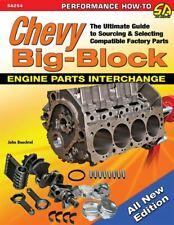 Chevy Chevrolet Big Block Engine Parts Interchange 348 396 402 427 454