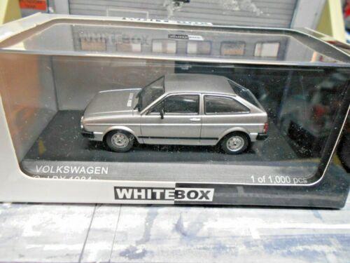 VW Volkswagen Brazil GOL BX 1984 silber 3 Türer Brasilien IXO White Box 1:43