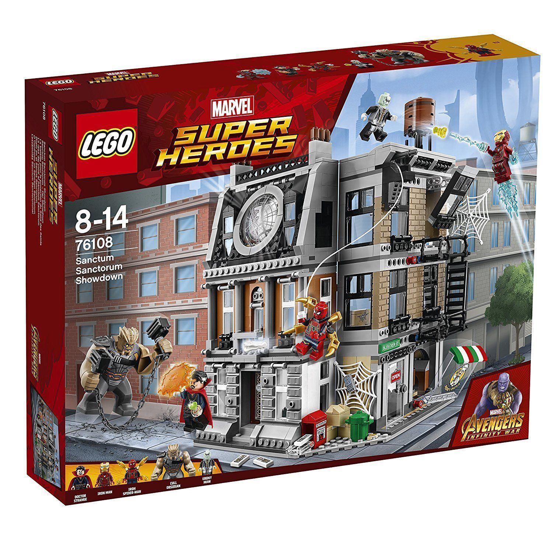 Lego Marvel Super Heroes  infinito Los Vengadores guerra Sanctum Sanctorum Showdown