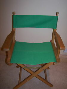 DIRECTORS CHAIR REPLACEMENT COVERS WATER RESISTANT 3 SIZES 6 COLOURS