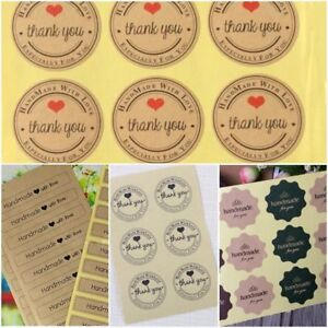 Festival-Days-Party-Gift-Cake-Candy-Baking-Bag-Sticker-Seals-Labels-Decals-Tags