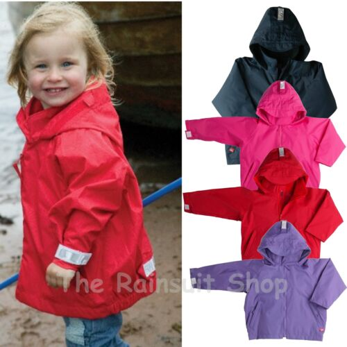 TOGZ  KIDS FULLY   WATERPROOF   JACKET CHILD  BOY OR GIRL  RAIN COAT 12m to 7YRS