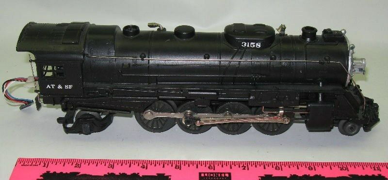 Lionel Santa Fe Mikado Steam Locomotive 2-8-2
