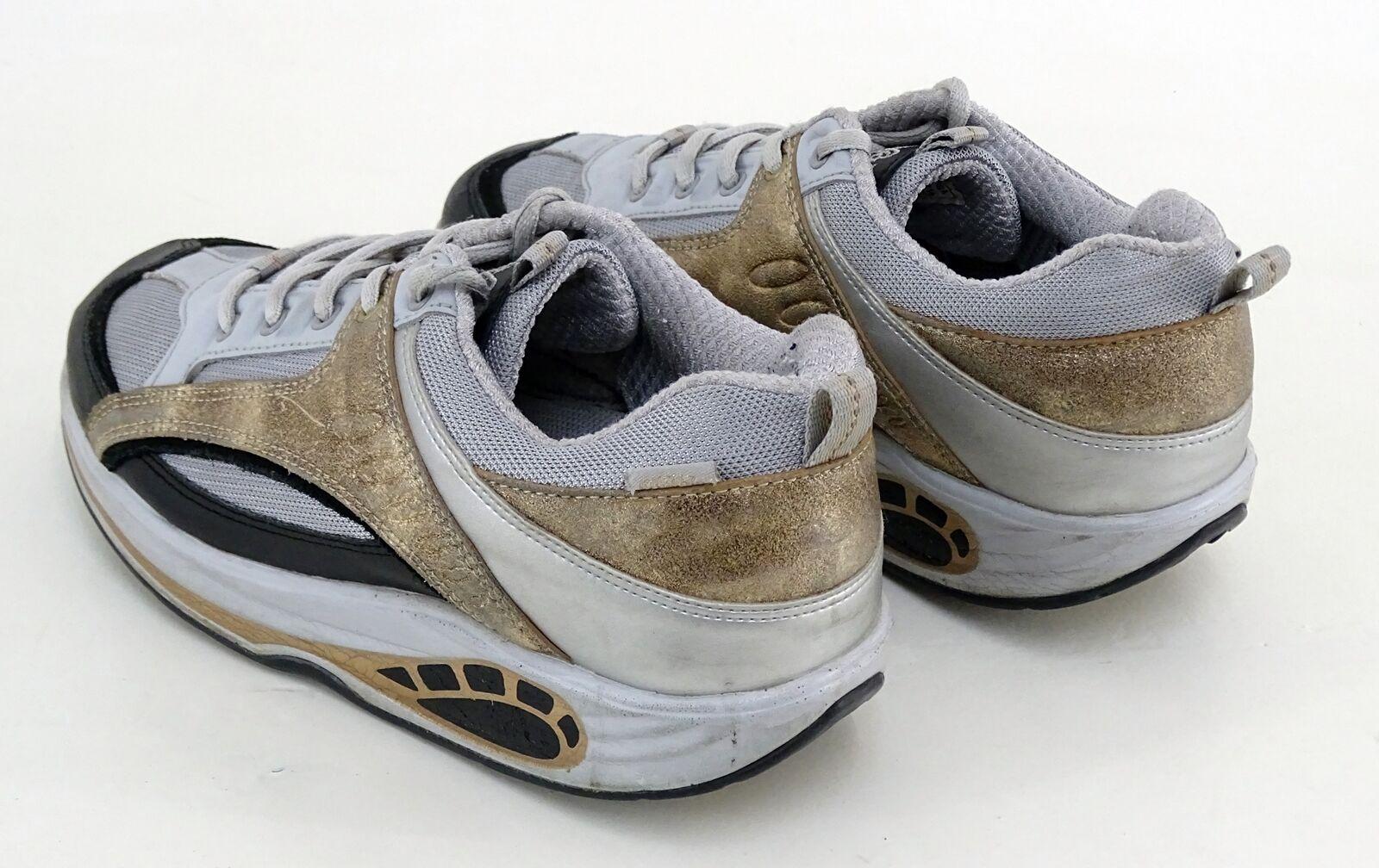 Sneaker Buffalo Schnürer gebogene Sohle 40 Bodyliner Textil, Echtleder Gr. 40 Sohle 2fde77