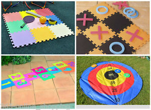 pour enfants int rieur ext rieur mousse tapis de jeu activit sol jardin te ebay. Black Bedroom Furniture Sets. Home Design Ideas