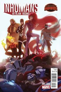 Inhumans-Attilan-Rising-1-Forbes-Promo-Variant-Marvel-Comics-Unread-New