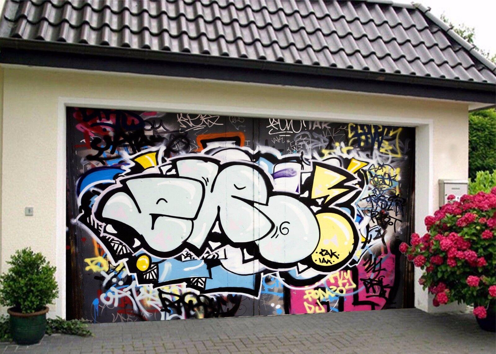 3D Graffiti 678 Garage Door Murals Wall Print Decal Wall Deco AJ WALLPAPER UK