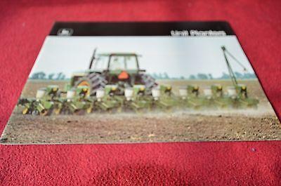 John Deere Drawn /& Integral Planter For 1977 Dealer/'s Brochure YABE7