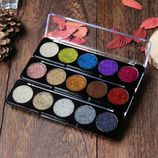 Shimmer Glitter Eye Shadow Powder Palette Matte Eyeshadow Five colors Makeup