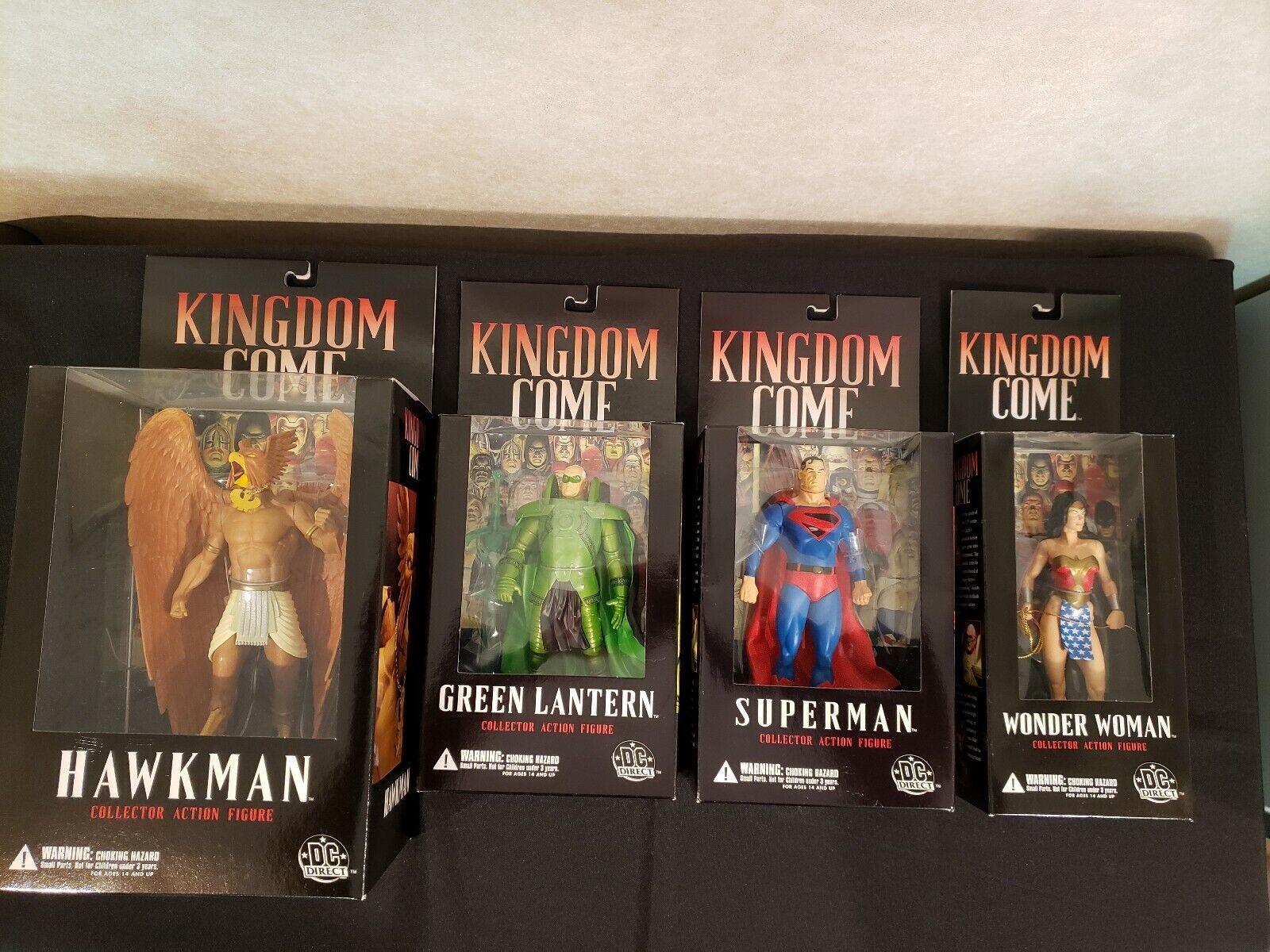 DC Direct-Kingdom Come[Alex Ross] JLA Super Heroes Action Figures Wave Sets
