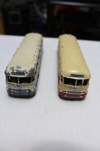 Deux Bus Autocar Chausson 29f Dinky Toys