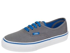 9ed27d7845 Image is loading Vans-Authentic-Pop-Smoked-Pearl-Snorkel-Blue-Toddler-