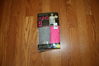 Ryka 2 Pk Seamless Super Soft Tank Top Heathered Gray Pink Size S Small