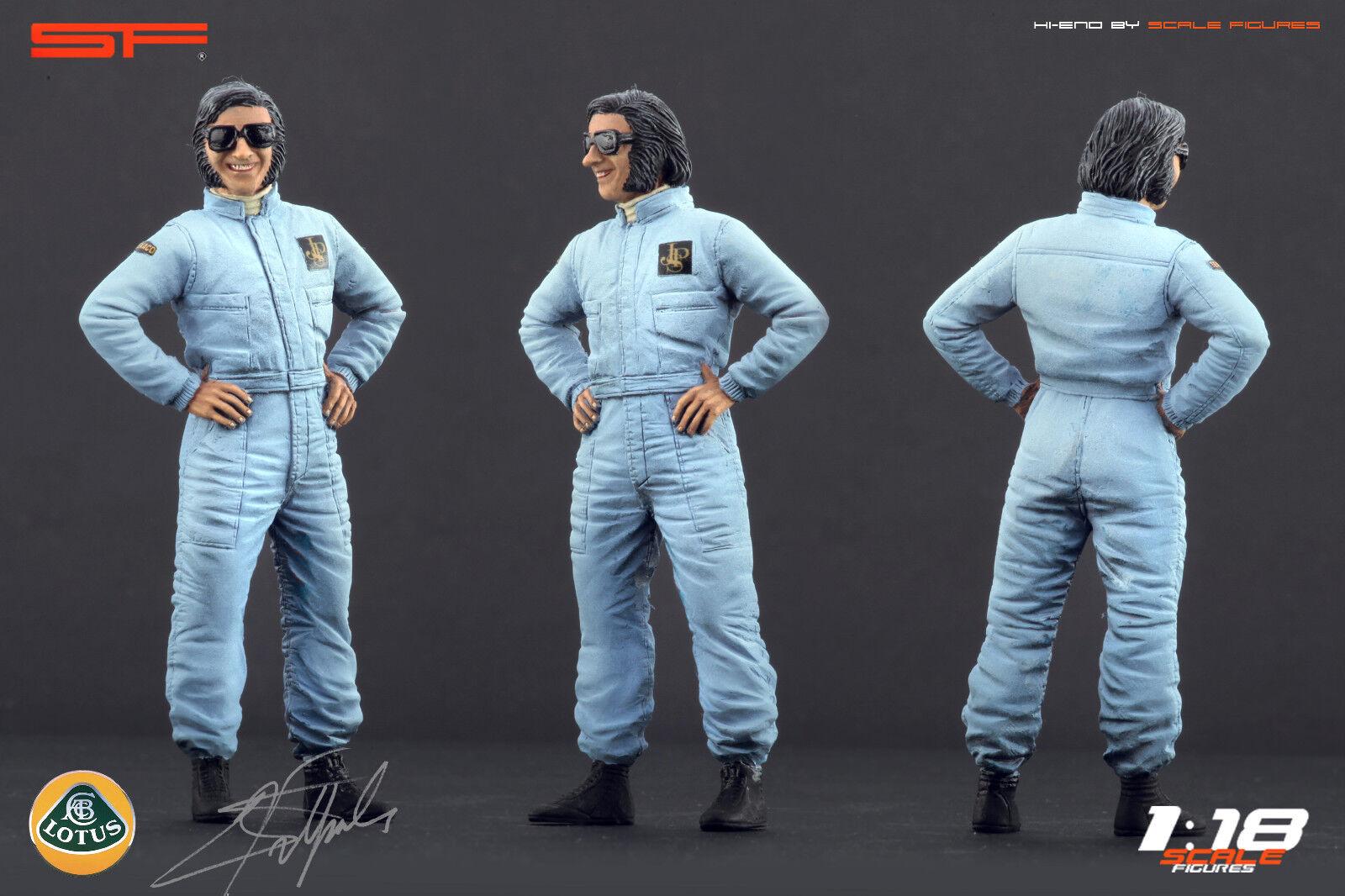 1/18 Emerson Fittipaldi Muy Raro Figuras Para  CMC AUTOART LOTUS