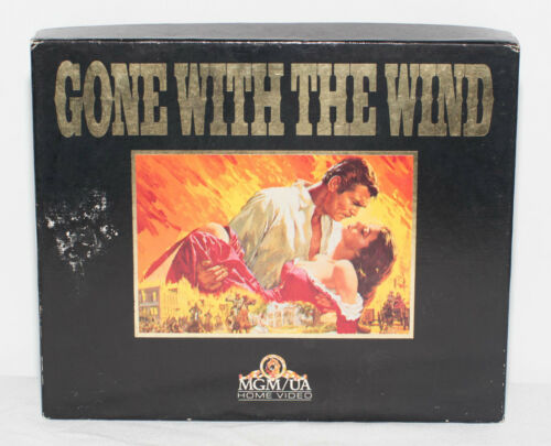 Vintage Gone With The Wind Box Set SPECIAL EDITION VHS Video Movie Classic