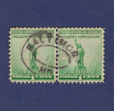USED SCOTT #899 PAIR WITH BALTIMORE, MD HANDSTAMP SOCKED ON NOSE (SON) CANCEL