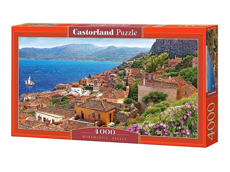 Castorland Puzzle 4000 Pieces - Monemvasia,Greece - 54 x27  Sealed box C-400140