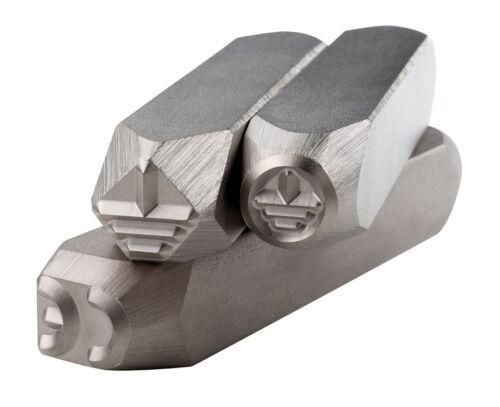 Genormte Sonderzeichen 8mm CE-Logo gem Handschlagstempel Norm