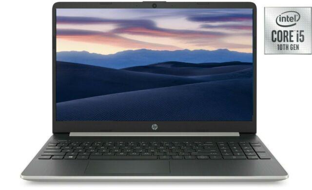 NEW HP 15.6 HD Intel i5-1035G1 3.6GHz 8GB RAM 256GB SSD + 16GB Optane Win10 Mic