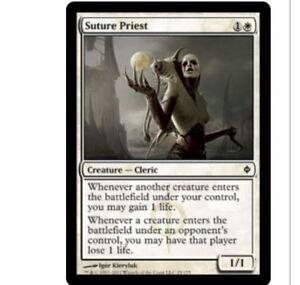 Magic MTG Suture Priest x 4 NPH New Phyrexia NM