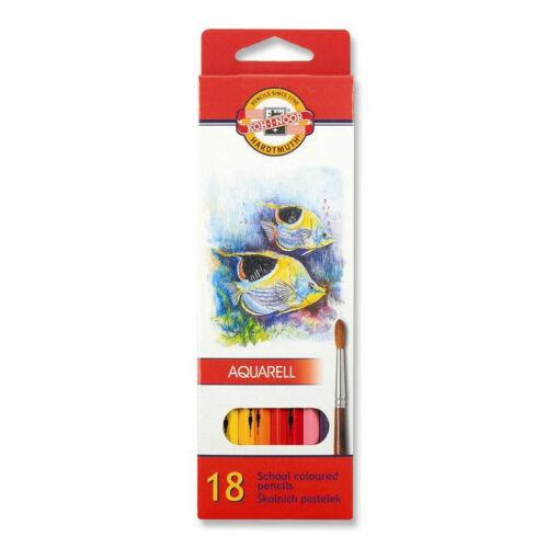 6 12 24 et 36 KOH-I-NOOR 3715-2171 aquarell crayons aquarelle école 18