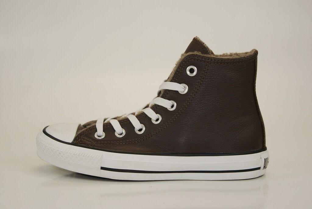 Converse All Star pelle HI TGL 35 scarpe scarpe 35 da ginnastica MANDRINI Donna   Bambino ba387c