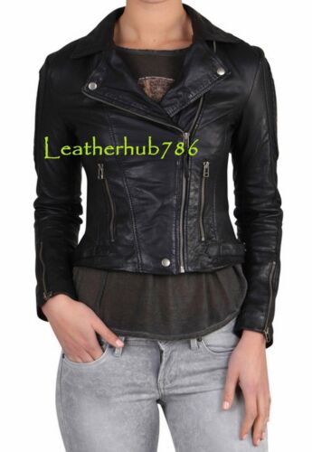 Alle Størrelse Lambskin Ægte Hot 232 Party New Leather Pure Women Jacket Sexy Black CWvOvq
