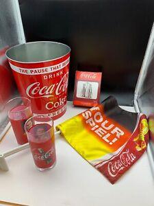 Coca-Cola-Collector-Convolute-5-Pieces-Top-Conditino