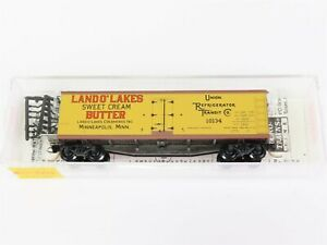 N-Scale-MTL-Micro-Trains-49470-URTC-Land-O-039-Lakes-Butter-40-039-Reefer-10134