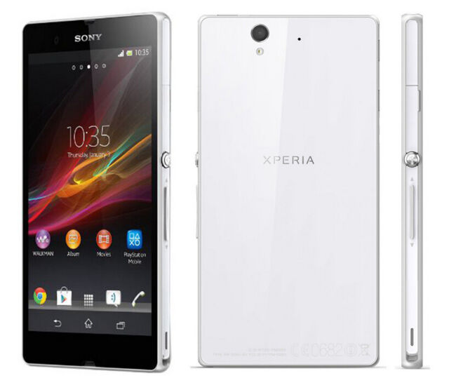 Sony Ericsson Xperia Z C6603 - 13.1MP 16GB IP57 - White Unlocked Smartphone