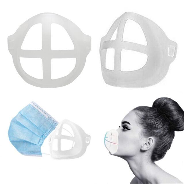 10/20/30x Washable 3D Face Mask Bracket Cover Inner Stand Holder Support Frame