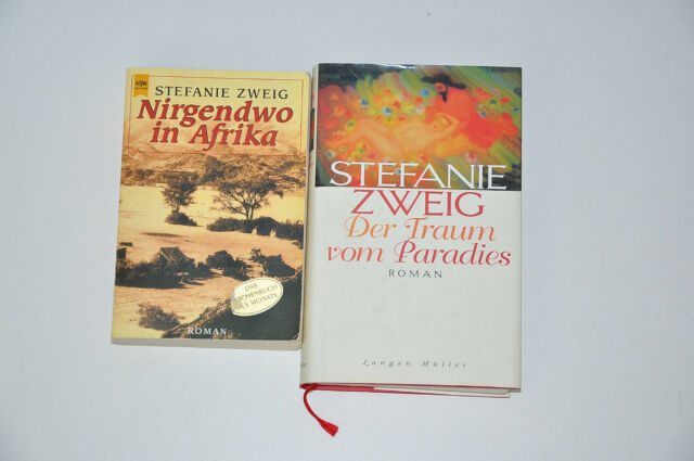 Bücherpaket 2x Stefanie Zweig Romane, Nirgendwo in Afrika, Der Traum vom Paradie